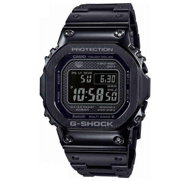 【新品】【即納】カシオ Gショック CASIO G-SHOCK タフソーラー 電波時計 デジタル 腕時計 メンズ ブラック GMW-B5000GD-1JF 黒 2018 新作