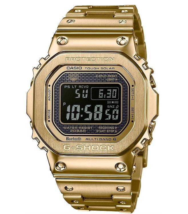 【新品】【即納】カシオ Gショック CASIO G-SHOCK タフソーラー 電波時計 デジタル 腕時計 メンズ GMW-B5000GD-9JF ゴールド 2018 新作