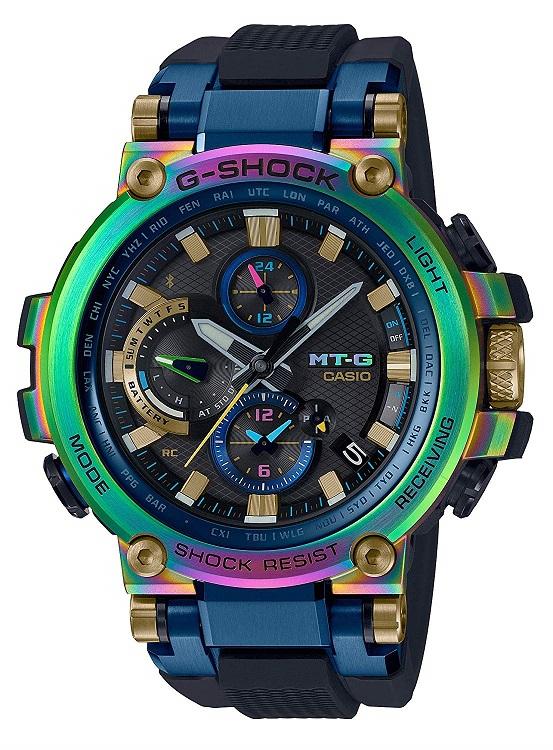 【新品】1週間以内発送[カシオ]CASIO 腕時計 G-SHOCK ジーショック MT-G Bluetooth 搭載 電波ソーラー MTG-B1000RB-2AJR メンズ