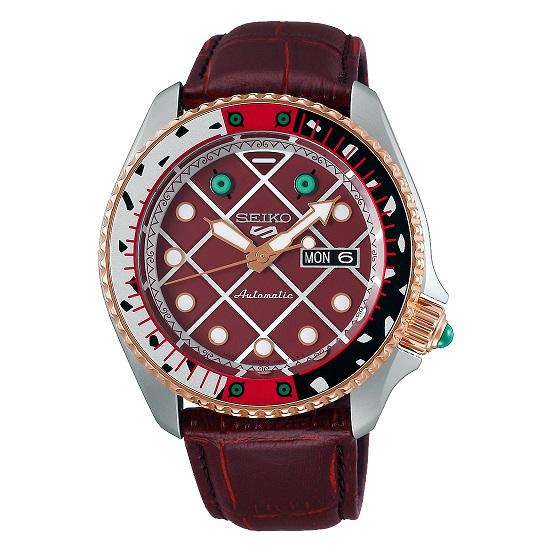 【新品】【即納】 セイコー 5スポーツ ジョジョの奇妙な冒険 黄金の風 ディアボロ SBSA034 ジョジョ JOJO 時計 腕時計 数量限定1000本