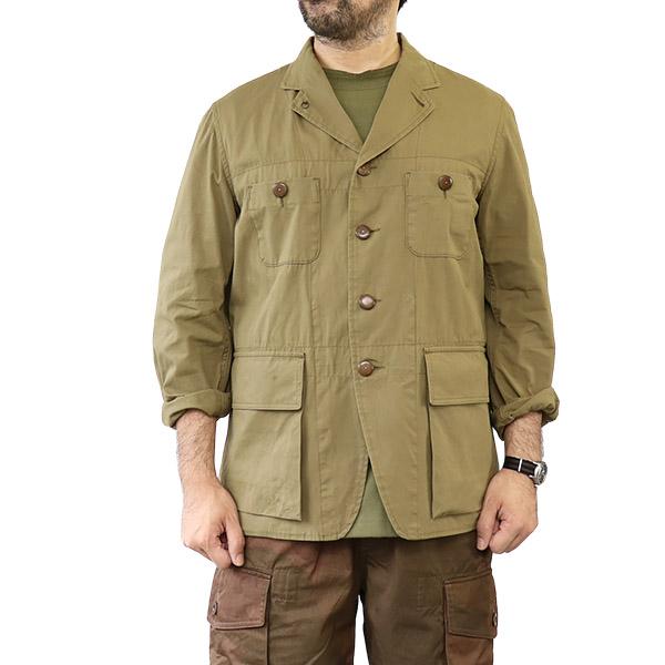 NIGEL CABOURN ナイジェル・ケーボン ATKINSON JACKET REVERSIBLE WEATHER CLOTH KHAKI MAIN LINE リバーシブルジャケット
