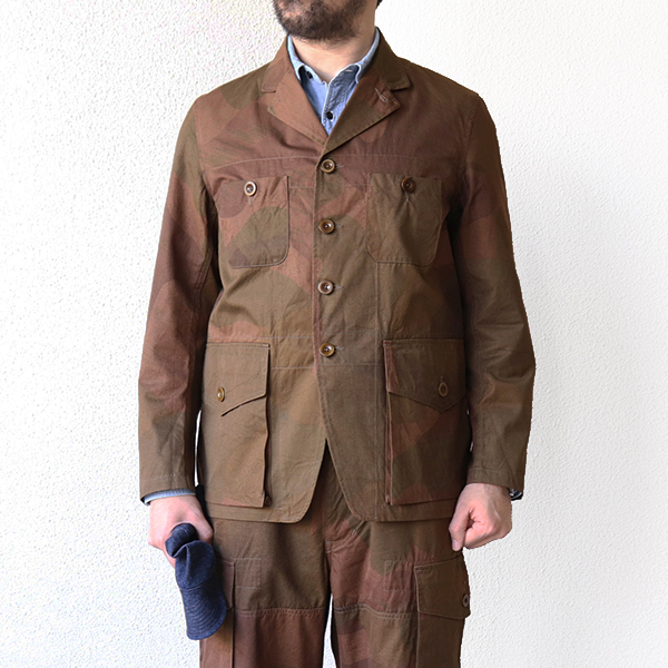 NIGEL CABOURN ナイジェル・ケーボン ATKINSON JACKET S.A.S CAMOUFLAGE MAIN LINE