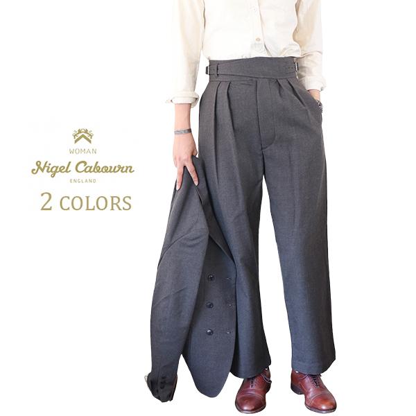 NIGEL CABOURN WOMAN ナイジェル・ケーボン ウーマン BATTLE DRESS PANT WOOL SERGE 2 COLORS MAIN LINE