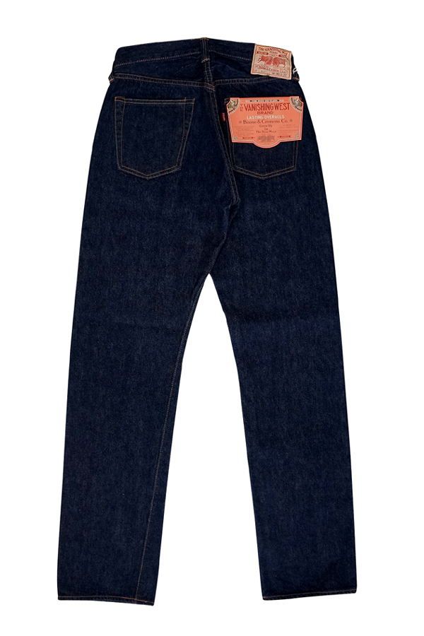 FREEWHEELERS furihoirazu 5 POCKET JEANS 1951 MODEL THE VANISHING WEST Lot 601 XX Length 32