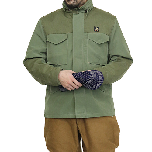 FREEWHEELERS フリーホイーラーズ PIONEER OUTDOOR JACKET ULTIMA THULE EQUIPMENT COTTON NYLON MOUNTAIN CLOTH OLIVE