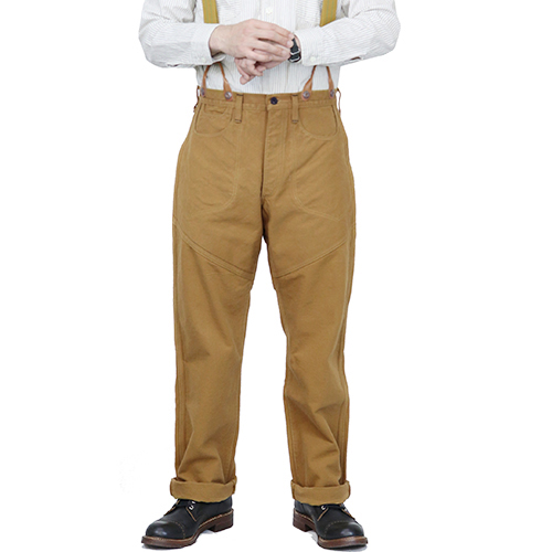 FREEWHEELERS フリーホイーラーズ GOLD MINER OVERALLS LATE DUCK 1800s STYLE MINER CLOTHING WORK CLOTHING HEAVY Oz COTTON DUCK YELLOW BROWN, 株式会社ミヤタコーポレーション:52452945 --- economiadigital.org.br