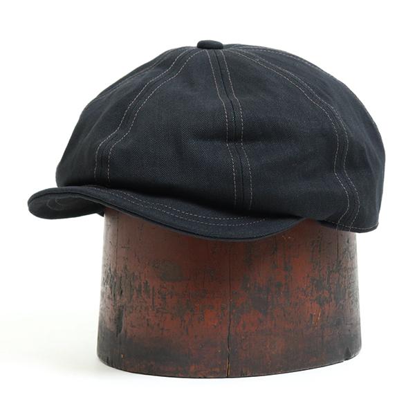 予約商品 2021年9月入荷予定 FREEWHEELERS フリーホイーラーズ DYLAN 8 プレゼント キャスケット BLACK HERRINGBONE CAP PANELS TWILL 完全送料無料