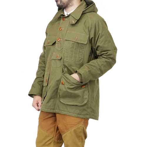 FREEWHEELERS フリーホイーラーズ LUMBERMAN GREAT LAKES GMT.MFG.Co. 1920 - 1930s STYLE UTILITY GARMENT MILITARY CANVAS OLIVE