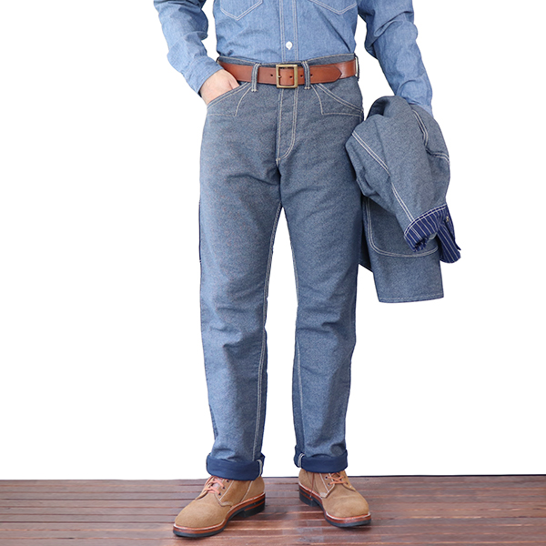 FREEWHEELERS フリーホイーラーズ KING SNIPE LATE 1890s ~ STYLE WORK CLOTHING UNION SPECIAL OVERALLS NAVY IRONCLAD STRIPE × INDIGO WABASH STRIPE, ドリームアイランド 8d8a3a33