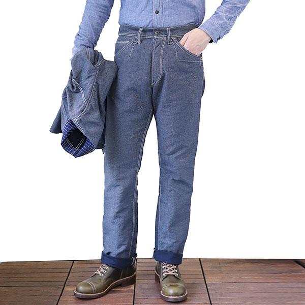 FREEWHEELERS フリーホイーラーズ KING SNIPE LATE 1890s ~ STYLE WORK CLOTHING UNION SPECIAL OVERALLS NAVY IRONCLAD STRIPE × INDIGO WABASH STRIPE