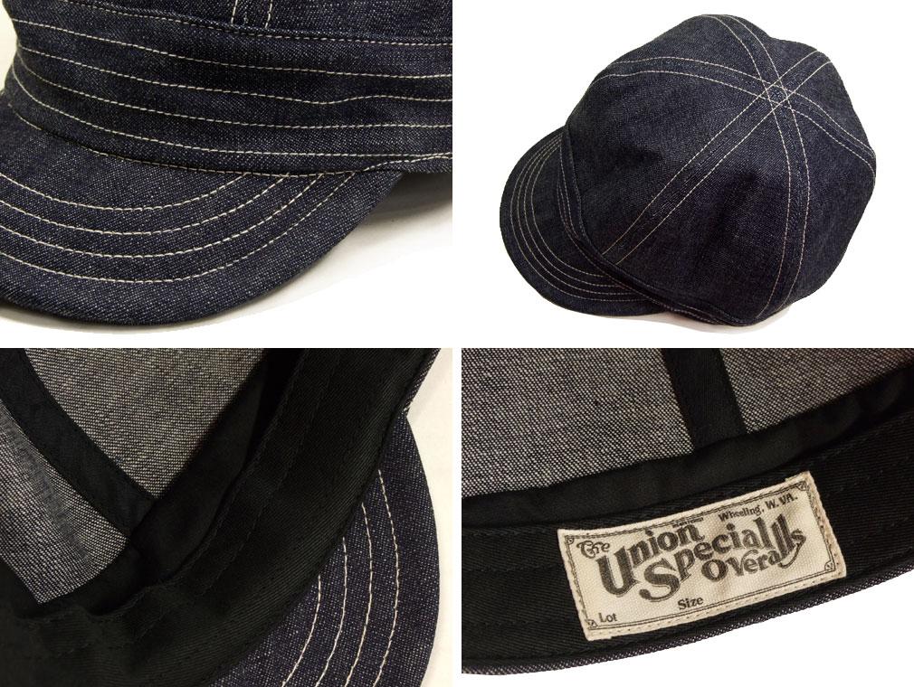 FREEWHEELERS GUTHRIE 1920s 〜 STYLE WORK CAP 10oz INDIGO DENIM