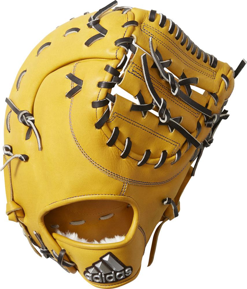 【ラッキーシール対象】adidas(アディダス)野球&ソフト野球グラブ軟式グラブ 一塁手用FTJ12メサ