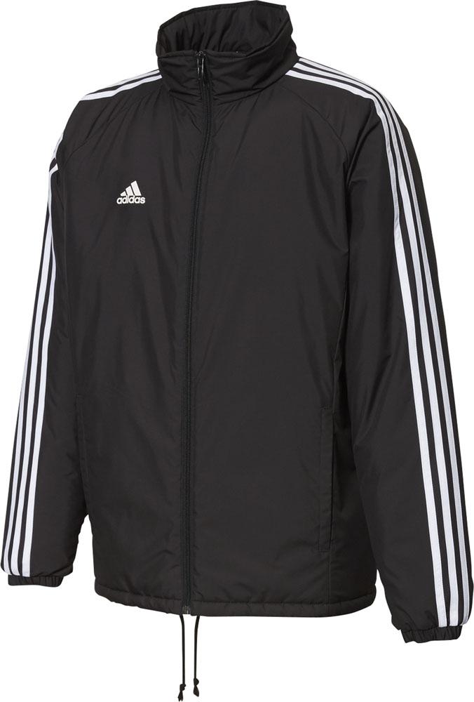 adidas(アディダス)野球&ソフトウインドウェアBSウォーマージャケットFUX98ブラック×ホワイト