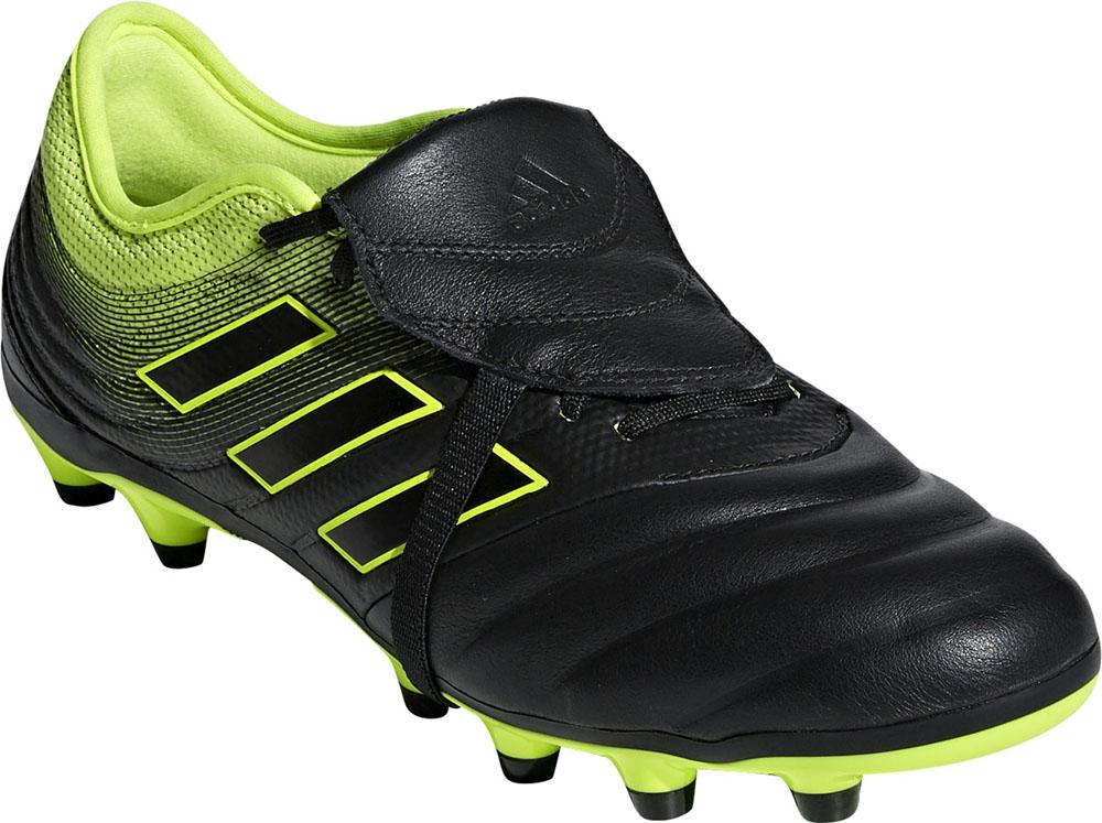 adidas(アディダス)サッカースパイクコパ 19.2 ジャパン HG/AG コアブラック×コアブラック×ソーラーイエローF97323コアBLK/コアBLK/