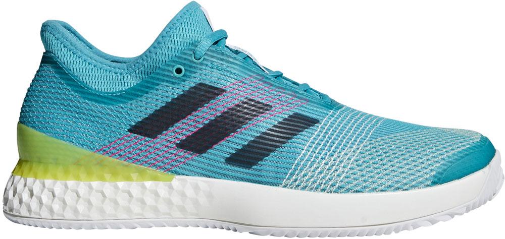 【ラッキーシール対象】adidas(アディダス)テニスシューズUBERSONIC 3 MULTICOURTF36721ランニングホワイト