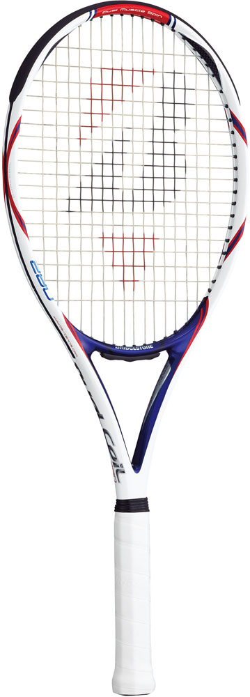 【ラッキーシール対象】BridgeStone(ブリヂストン)テニスラケット【硬式テニスラケット】 デュアルコイル 280 ネイビーレッド(フレームのみ)BRAD62