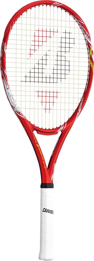 【ラッキーシール対象】BridgeStone(ブリヂストン)テニスラケット【硬式テニスラケット】 エックスブレード VI-R(ブイアイアール)300 (フレームのみ)BRAV64