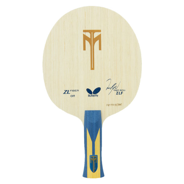 【ラッキーシール対象】バタフライ(Butterfly)卓球ラケットティモボル・ZLF・AN35842