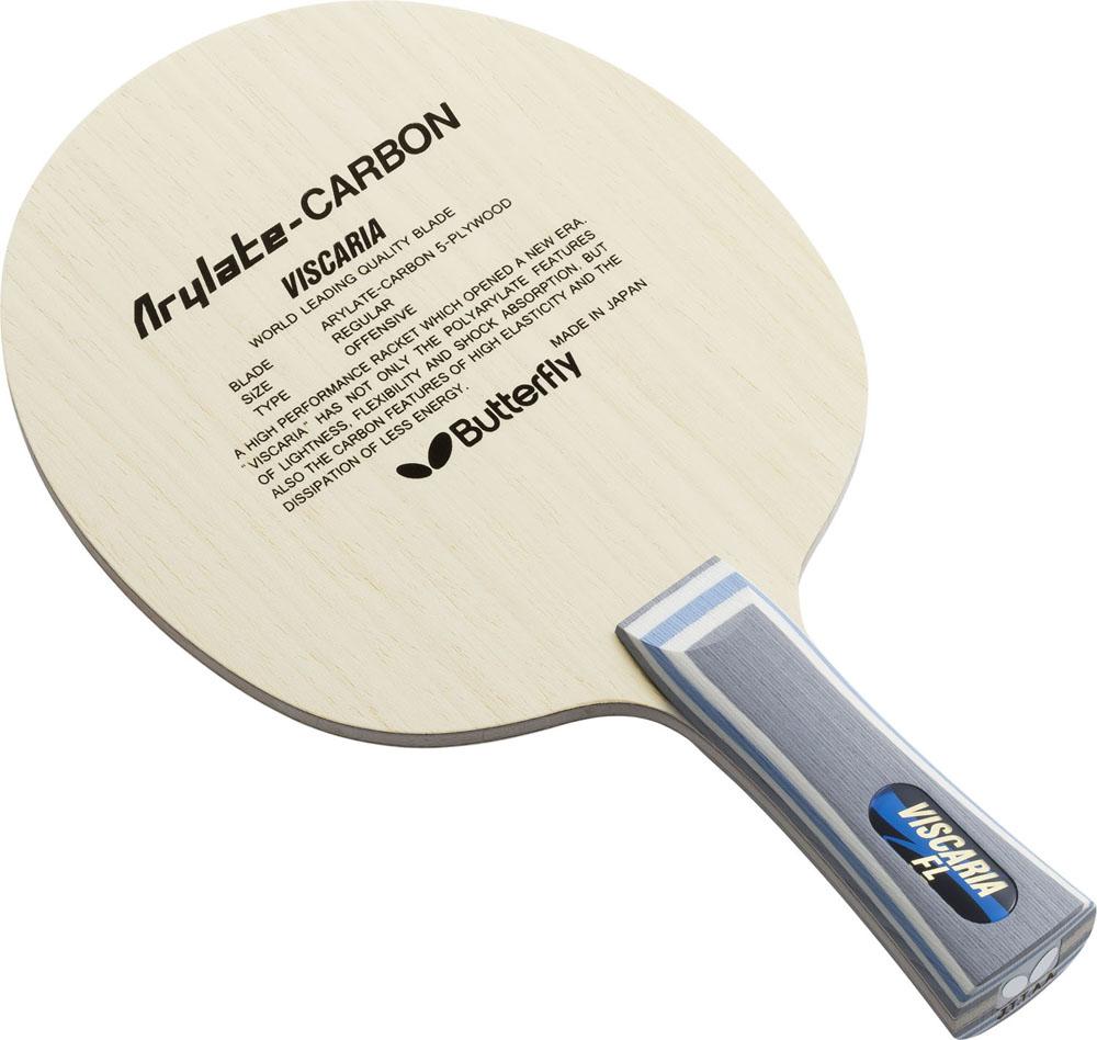 【ラッキーシール対象】ニッタク(Nittaku)卓球ラケットシェークラケット VISCARIA FL(ビスカリア フレア)30041