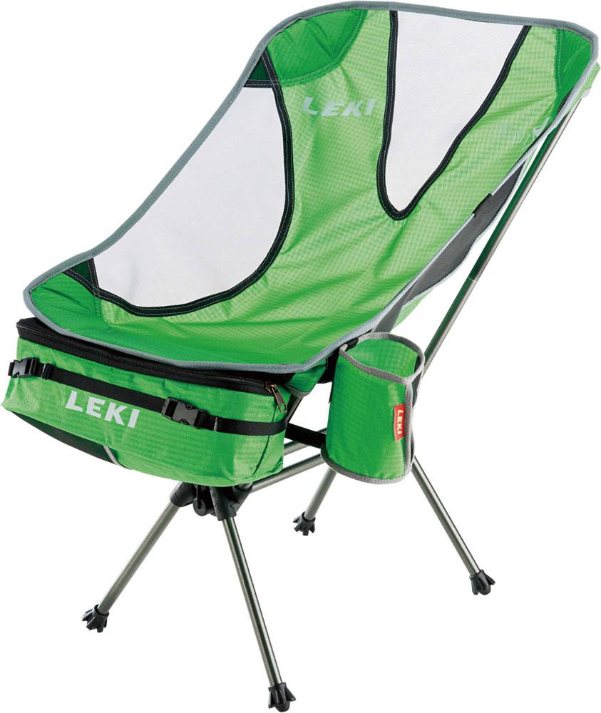 【ラッキーシール対象】LEKI(レキ)アウトドアスキーポールアウトドア キャンプ 折りたたみ式 椅子 サブ ワン ライトウエイト1300357550グリーン