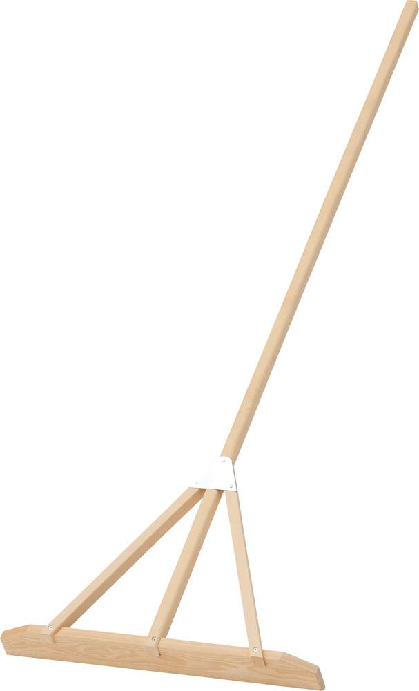 【ラッキーシール対象】ダンノ(DANNO)学校体育器具器具・備品木製レーキDX60(ヒノキ)D3095