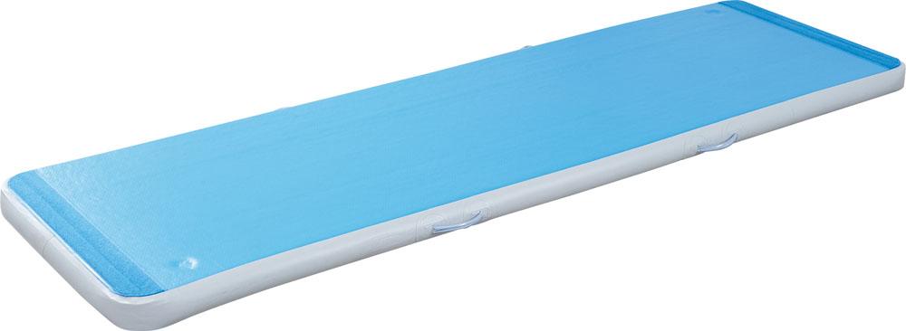 【ラッキーシール対象】ダンノ(DANNO)学校体育器具器具・備品ショートエアートラック300(ブルー・フットポンプ付)D7172B