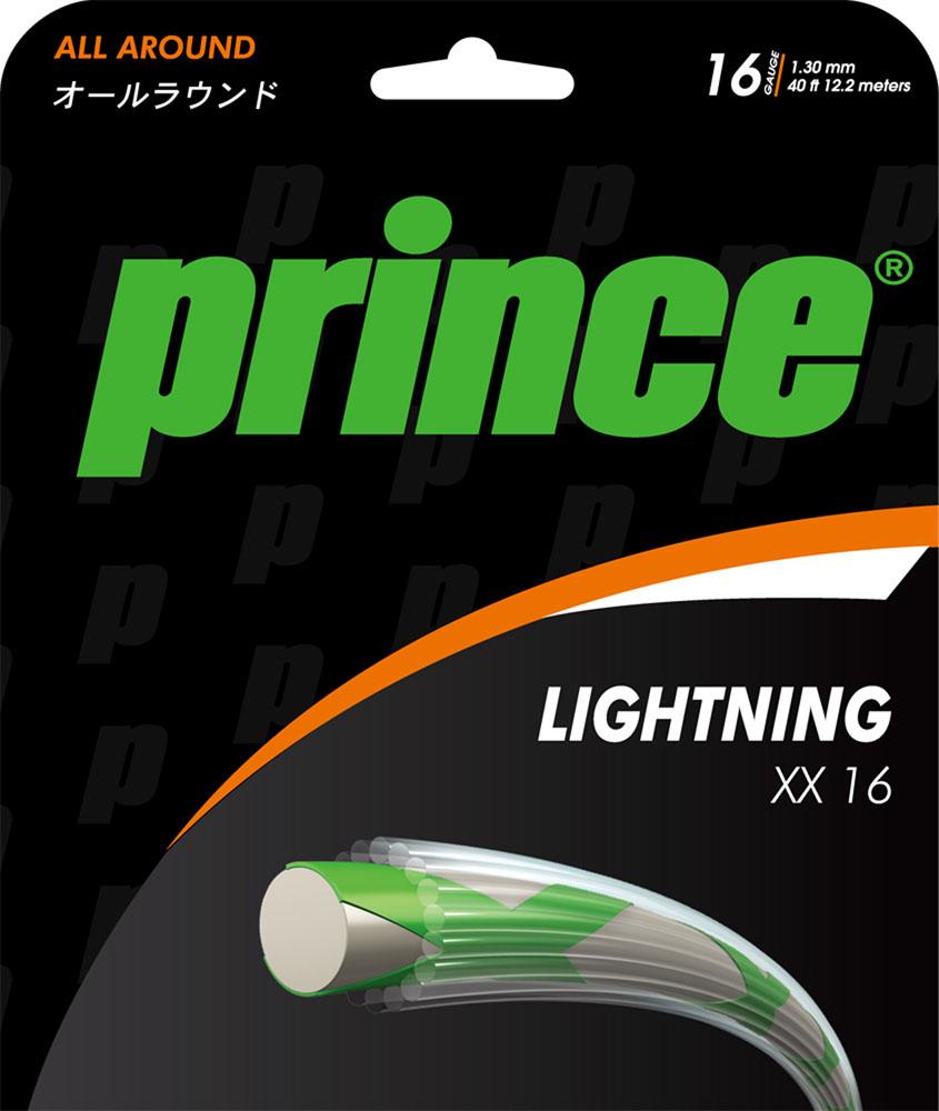 【ラッキーシール対象】Prince(プリンス)テニスガット・ラバーライトニング XX 167J39822