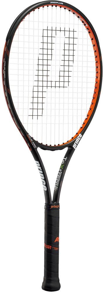【ラッキーシール対象】Prince(プリンス)テニスラケットツアープロ 100 XR ブラック×オレンジ7TJ016