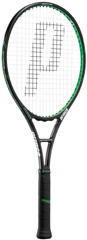 【ラッキーシール対象】Prince(プリンス)テニスラケットツアーグラファイト100 XR ブラック×グリーン7TJ017