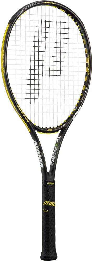 【ラッキーシール対象】Prince(プリンス)テニスラケット硬式テニス用ラケット(フレームのみ) ビースト オースリー 98 ブラック×イエロー7TJ066