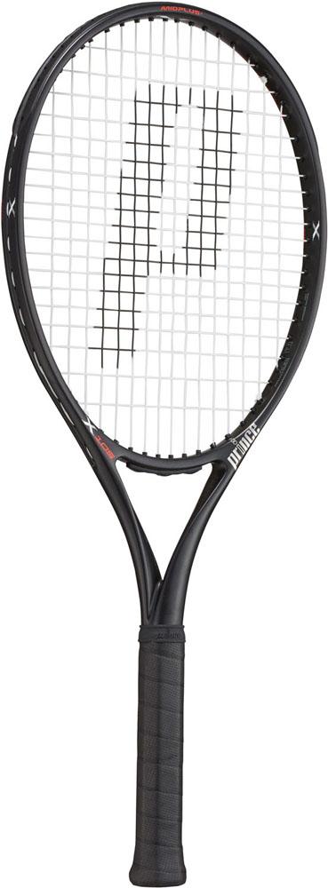 【ラッキーシール対象】Prince(プリンス)テニスラケットテニスラケット エックス105 ブラック 290g7TJ081