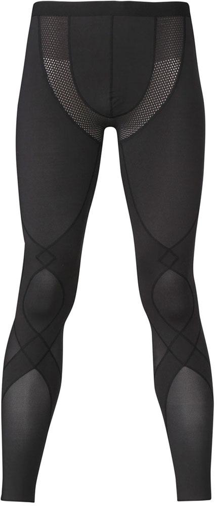 【ラッキーシール対象】Prince(プリンス)テニスゲームシャツ・パンツ(メンズ テニス・バドミントンウェア) CW-X クールタイプ ロングタイツ スタビライクモデルHZO759BLK