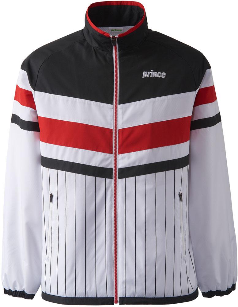 【ラッキーシール対象】Prince(プリンス)テニスウインドウェアウィンドジャケット ユニセックスTMU642TBLK