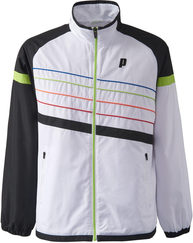【ラッキーシール対象】Prince(プリンス)テニスウインドウェアウィンドジャケット ユニセックスTMU643TBLK