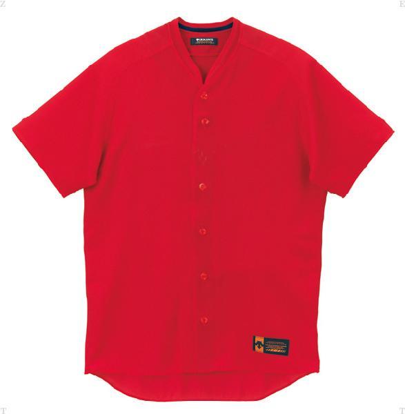 デサント(DESCENTE)野球&ソフト立襟フルオープンシャツ プロモデル(ルーズシルエット)DB55M