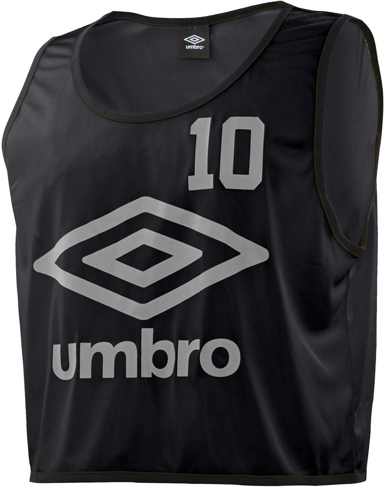 UMBRO(アンブロ)サッカーゲームシャツ・パンツストロングビブスUBS7557Zブラック