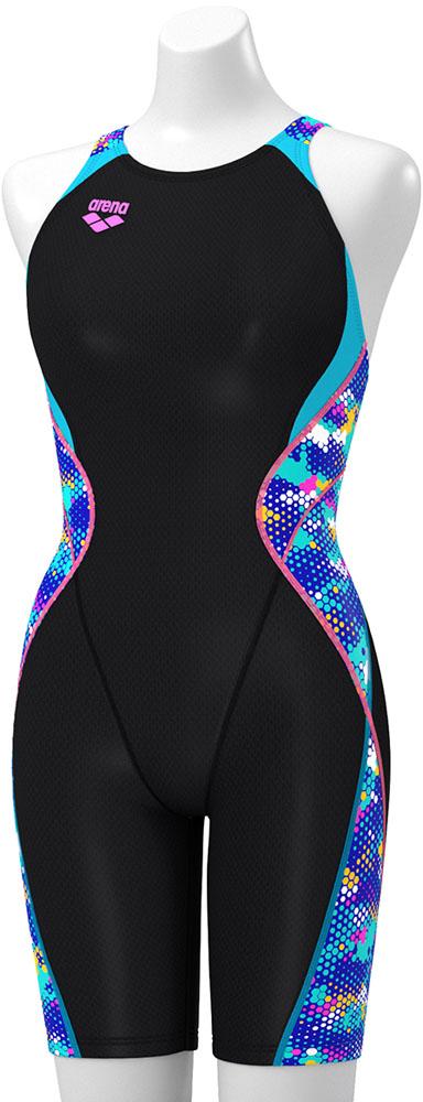 ARENA(アリーナ)水泳水球競技水着セイフリーバックスパッツ(着やストラップ)FAR9564WBKBU
