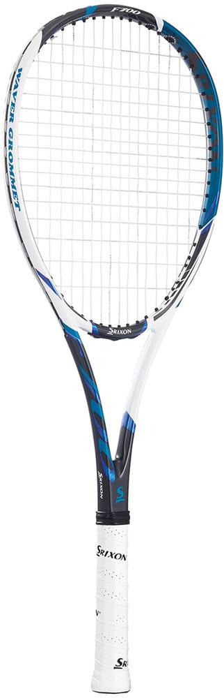 【ラッキーシール対象】SRIXON(スリクソン)テニスラケットスリクソン F700 ソフトテニスラケット(張上げ済)SR11803WHBL
