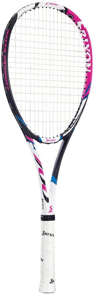 【ラッキーシール対象】SRIXON(スリクソン)テニスラケットスリクソン F700 ソフトテニスラケット(張上げ済)SR11803WHPK