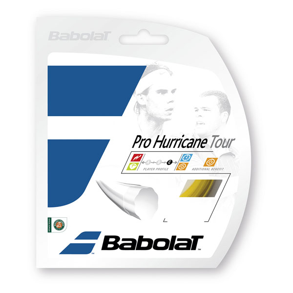 Babolat(バボラ)テニスガット・ラバープロハリケーンツアー 120/125/130/135BA243102イエロ-