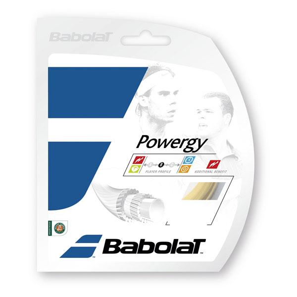 【ラッキーシール対象】Babolat(バボラ)テニスガット・ラバーパワジー 130BA243116ナチユラル