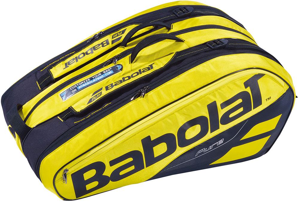 Babolat(バボラ)テニステニスバッグ ラケット12本収納可能 ラケットホルダー×12BB751180