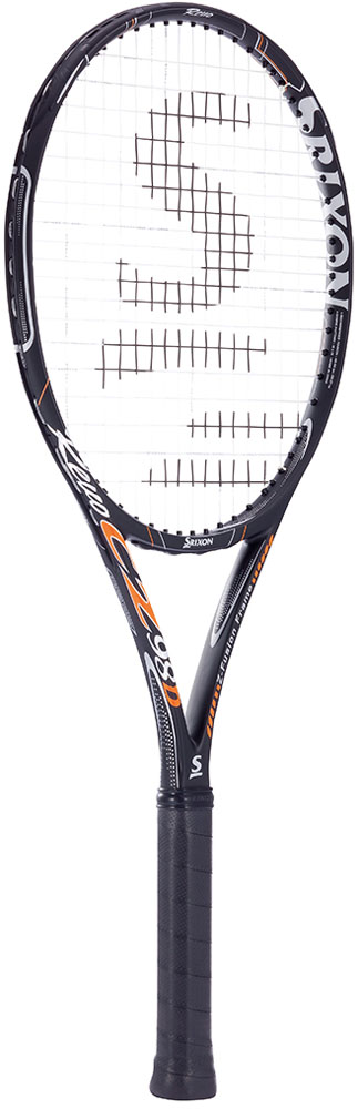 【ラッキーシール対象】SRIXON(スリクソン)テニスラケットSRIXON REVO CZ 98D ブラック×オレンジSR21511
