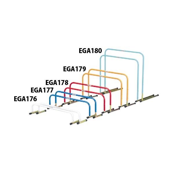 【ラッキーシール対象】エバニュー(Evernew)陸上トラック器具・備品ドリルハードル折りたたみ2(5台入)EGA177