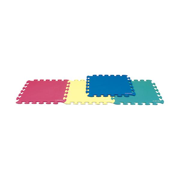 【ラッキーシール対象】エバニュー(Evernew)新・体操FT器具・備品フロアマット2(4色組)EKH112