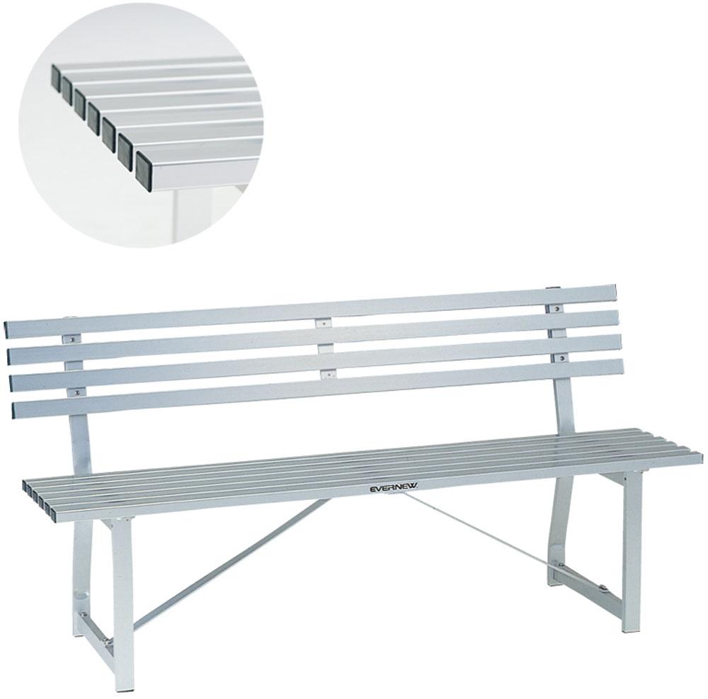 【ラッキーシール対象】エバニュー(Evernew)学校体育器具器具・備品ベンチ アルミ-2SEKA525