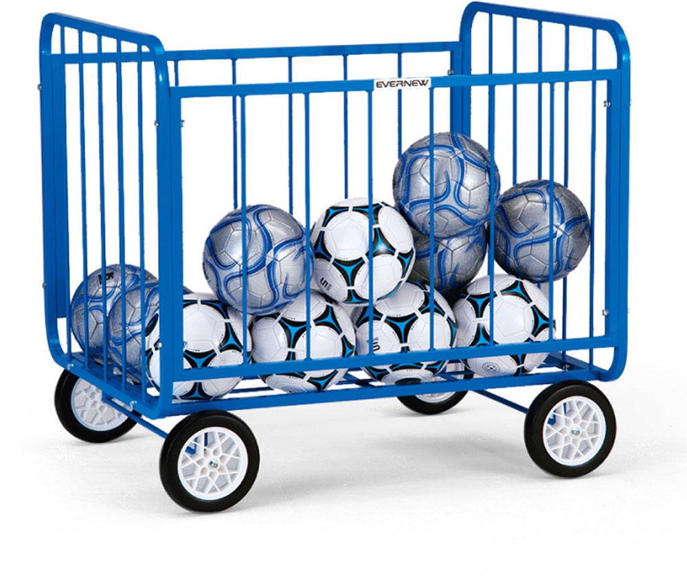 【ラッキーシール対象】エバニュー(Evernew)学校体育器具器具・備品ボール整理カゴST2EKE990