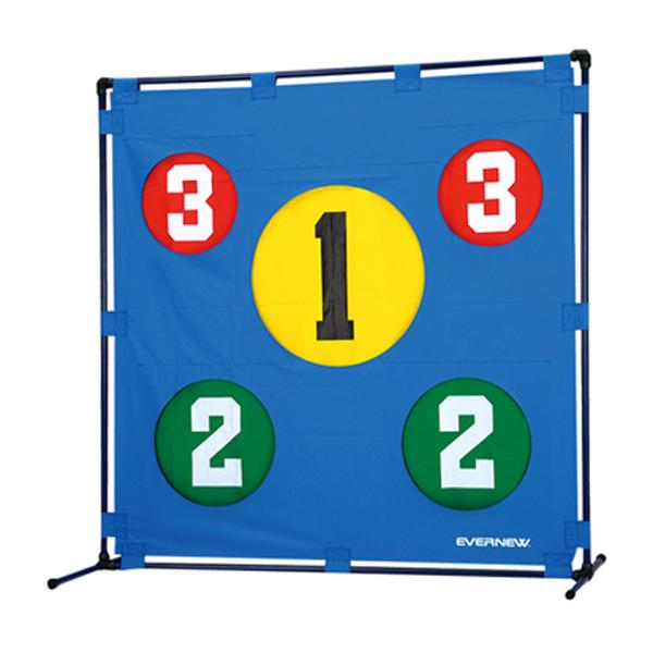 エバニュー(Evernew)学校体育器具ボールゲームターゲットETE072