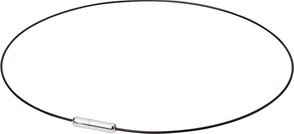 ファイテン(PHITEN)ボディケアRAKUWAネック ワイヤー Air ブラック×シルバー 40cmTG730151