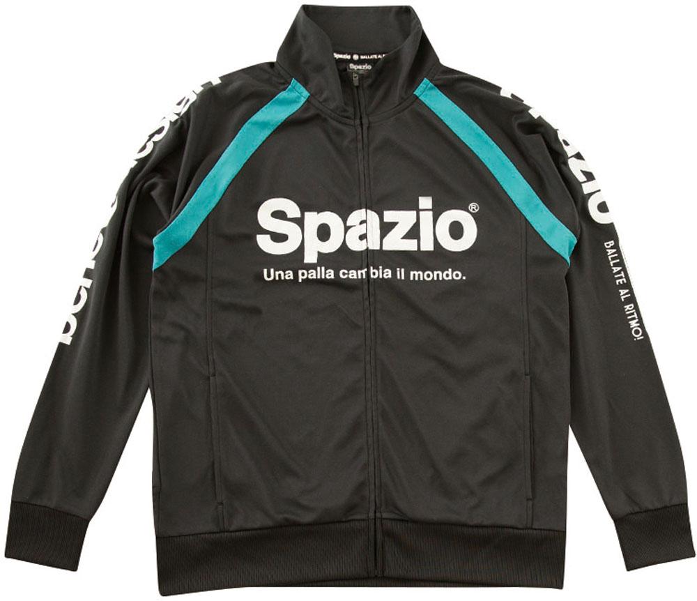 【ラッキーシール対象】SPAZIO(スパッツィオ)フットサルゲームシャツ・パンツ(メンズ サッカー・フットサルウェア) トレーニングスーツ上下セットGE0397ブラック